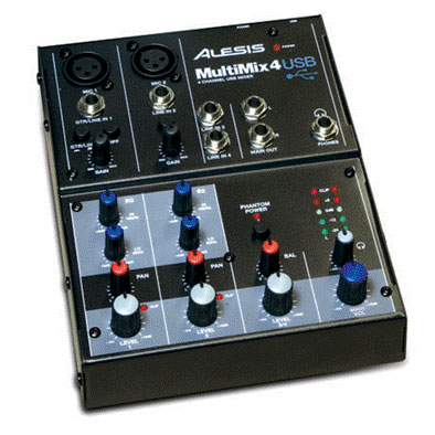 Alesis MultiMix 4 USB View 2