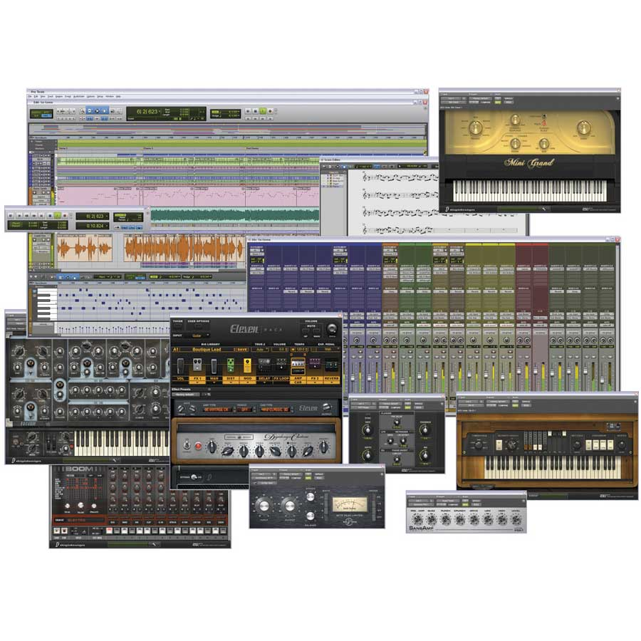 Digidesign Pro Tools 8LE + Eleven Rack Pro Tools Software