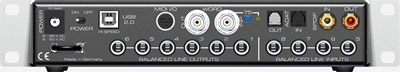 RME Audio Fireface UC Rear Voew
