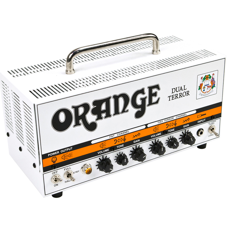 Orange DT30H Dual Terror Side Angle