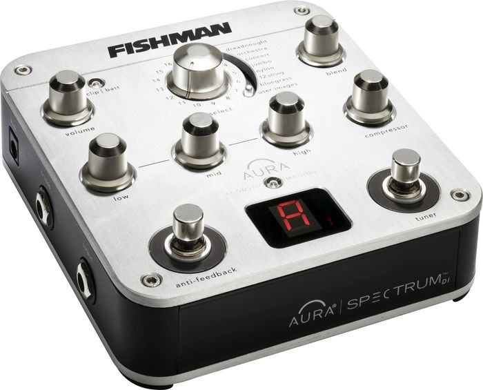Fishman Aura Spectrum DI Angled View