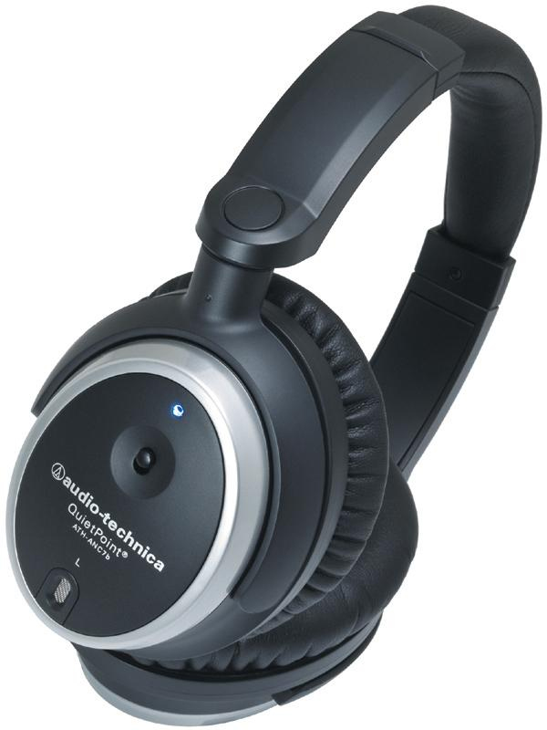 Audio Technica ATH-ANC7b QuietPoint View 2