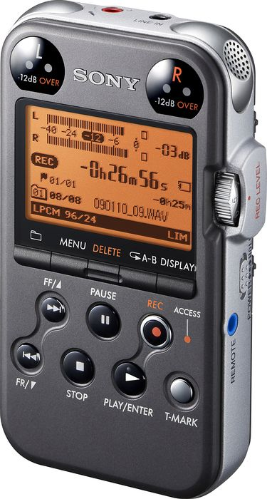 Sony PCM-M10 Portable Digital Recorder - Black View 2