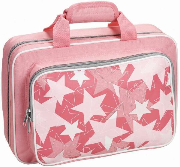 Grafix Polyfoam Clarinet Case - Pink Stars
