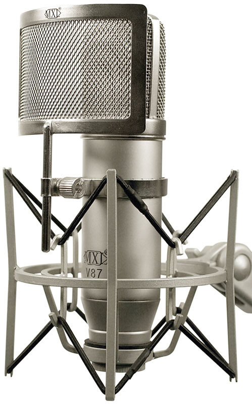 MXL MXL V87 With Shockmount and Pop Filter