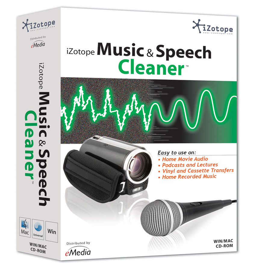 Music & Speech Cleaner