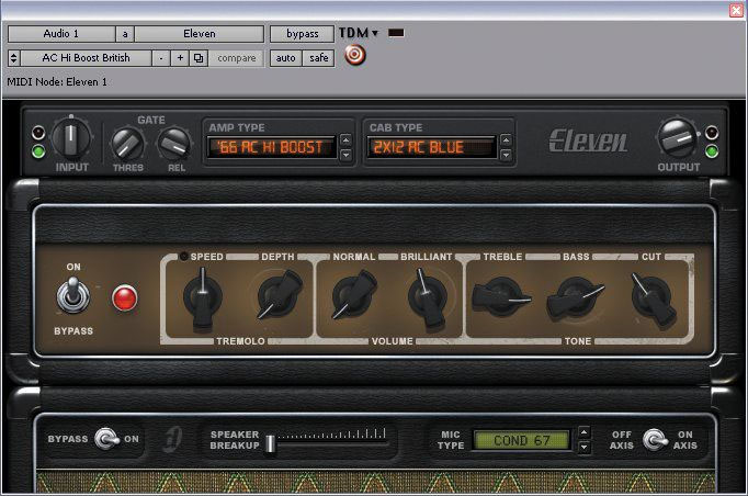 Digidesign Eleven LE Plug-In Screenshot 2