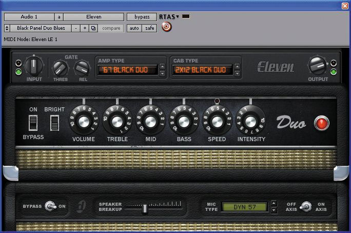 Digidesign Eleven LE Plug-In Screenshot 3