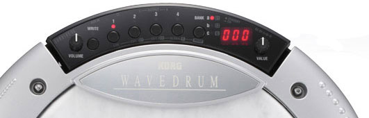 Korg Wavedrum - Limited Edition Oriental Controls In White