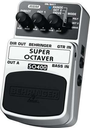 Behringer Super Octaver SO400 Right Angle