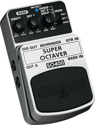 Behringer Super Octaver SO400 Left Angle
