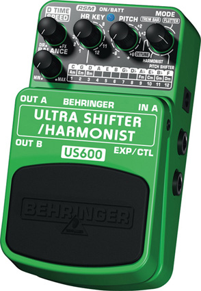 Behringer Ultra Shifter/ Harmonist US600 Right Angle