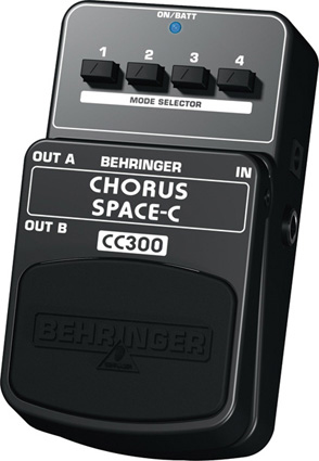 Behringer Chorus Space-C CC300 Right Angle