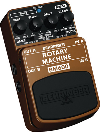 Behringer Rotary Machine RM600 Left Angle