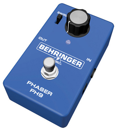 Behringer PH9 Phase Shifter Pedal Right Angle