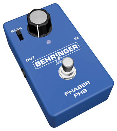 Behringer PH9 Phase Shifter Pedal Left Angle