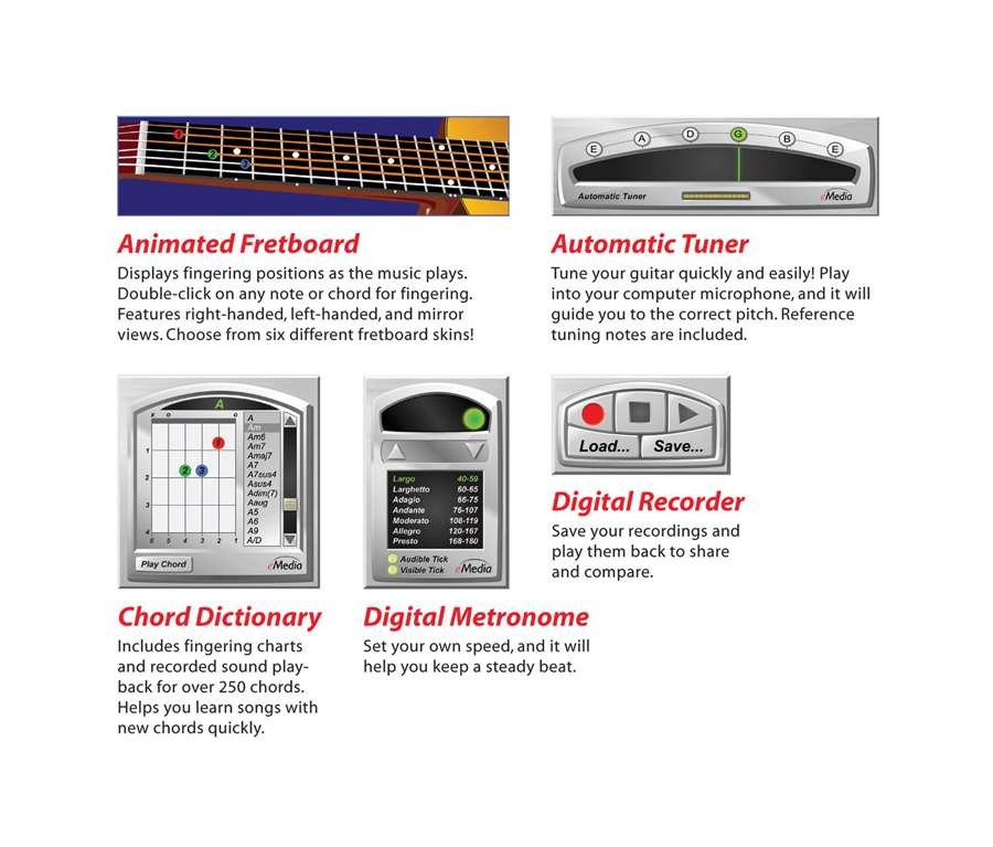 eMedia Guitar For Dummies Tools