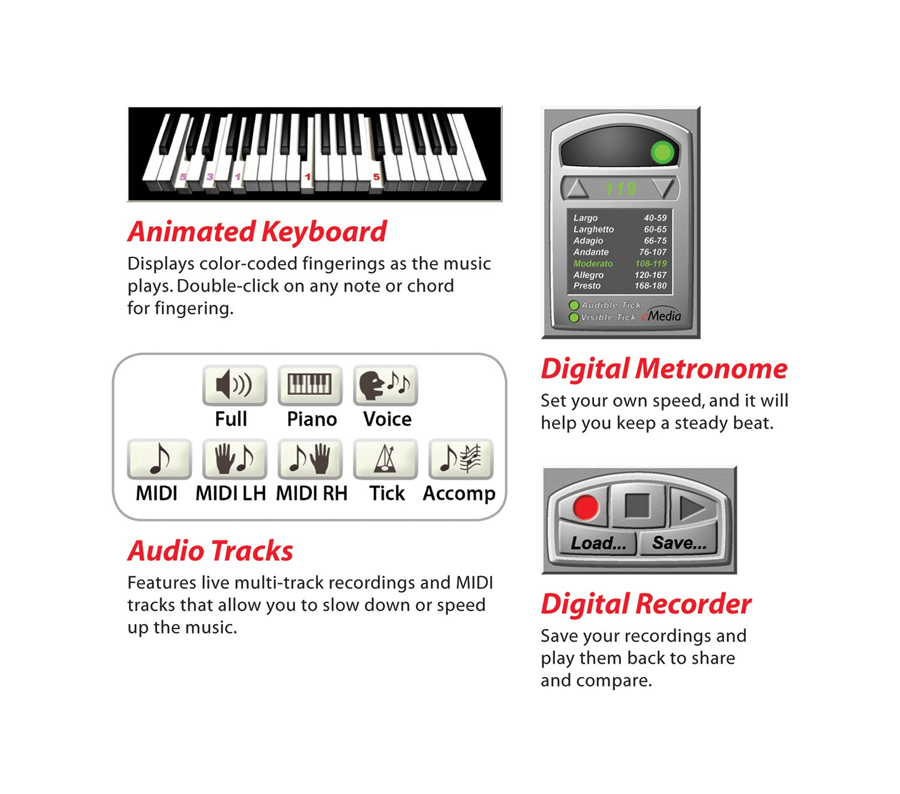 eMedia Piano For Dummies Tools