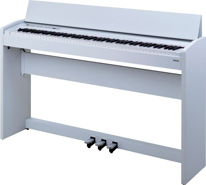 Roland F-110 Compact Digital Piano White Black