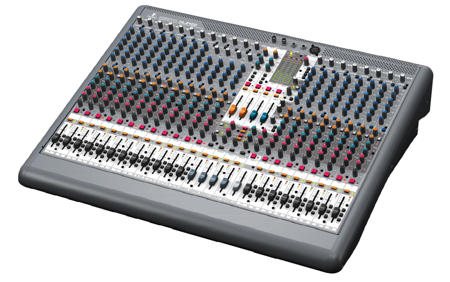 Behringer XENYX XL2400 Right Angle