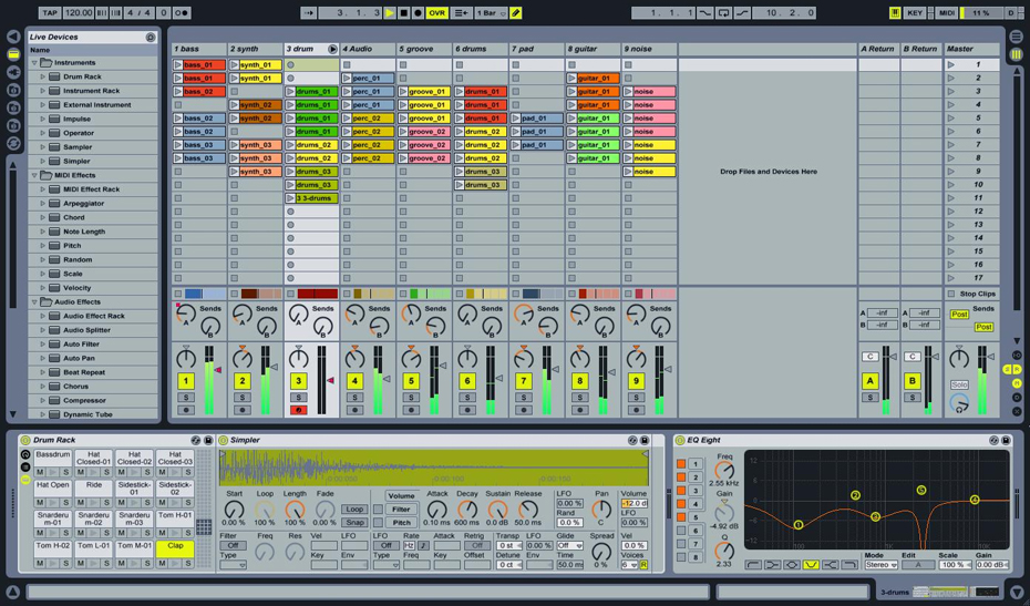 Ableton Live Intro Screenshot