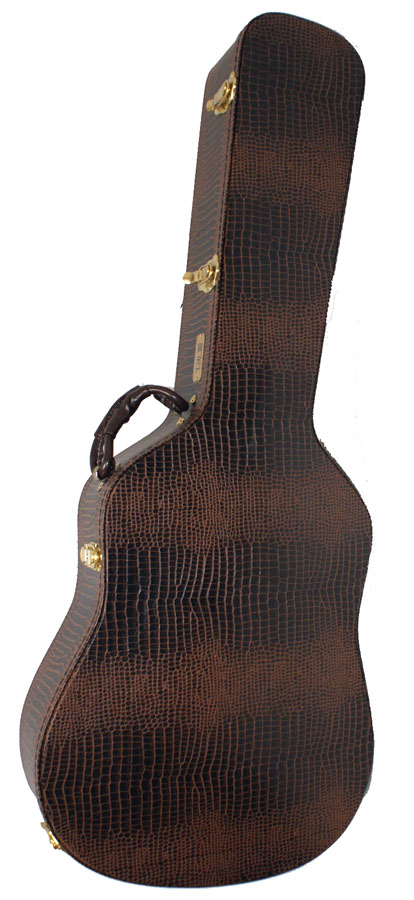 Alligator Skin Custom Deluxe Hard Shell Case - 8815