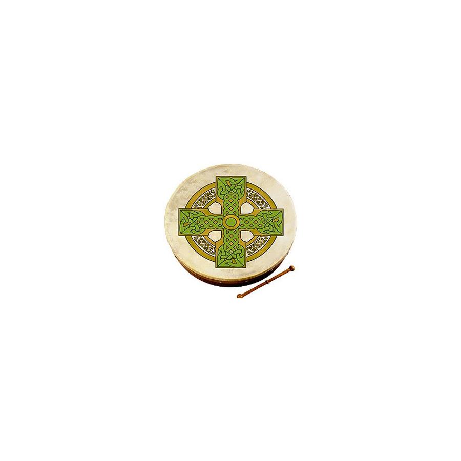 18-inch Bodhran - Cloghan Cross