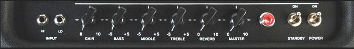 VHT Classic 18Control Panel