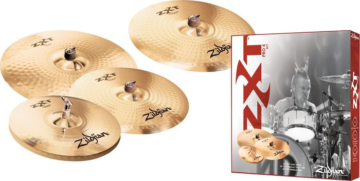 ZXTR4P-9 ZXT Rock Cymbal Box Set