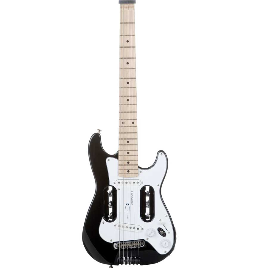 Escape EG-2 Travel Electric Guitar - Black