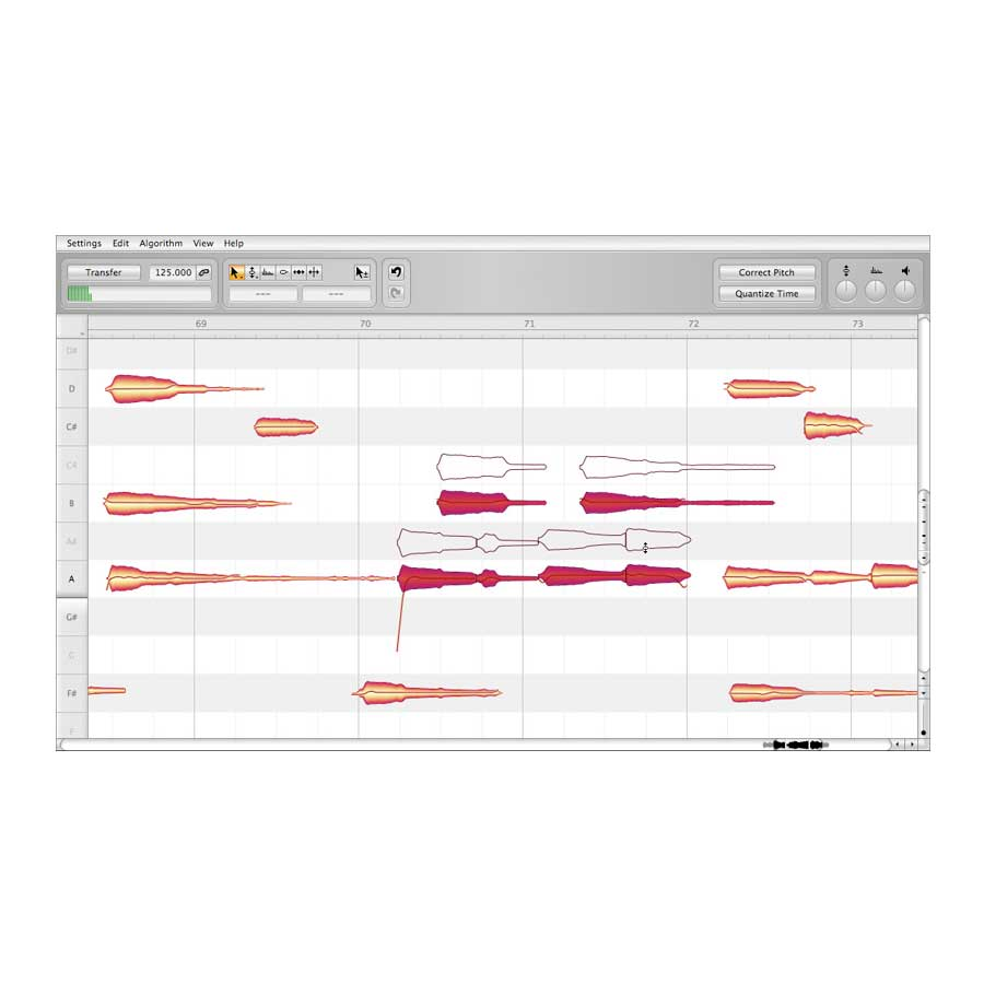 Celemony Melodyne Studio Bundle  Screenshot 1