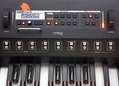Moog Taurus 3 Close Up
