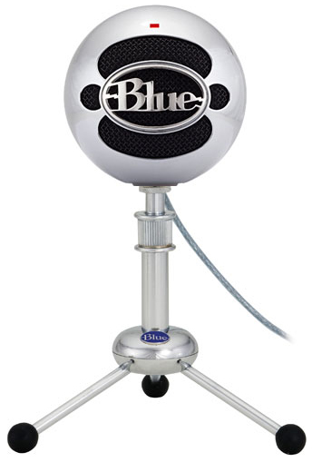 Blue Snowball Brushed Aluminium