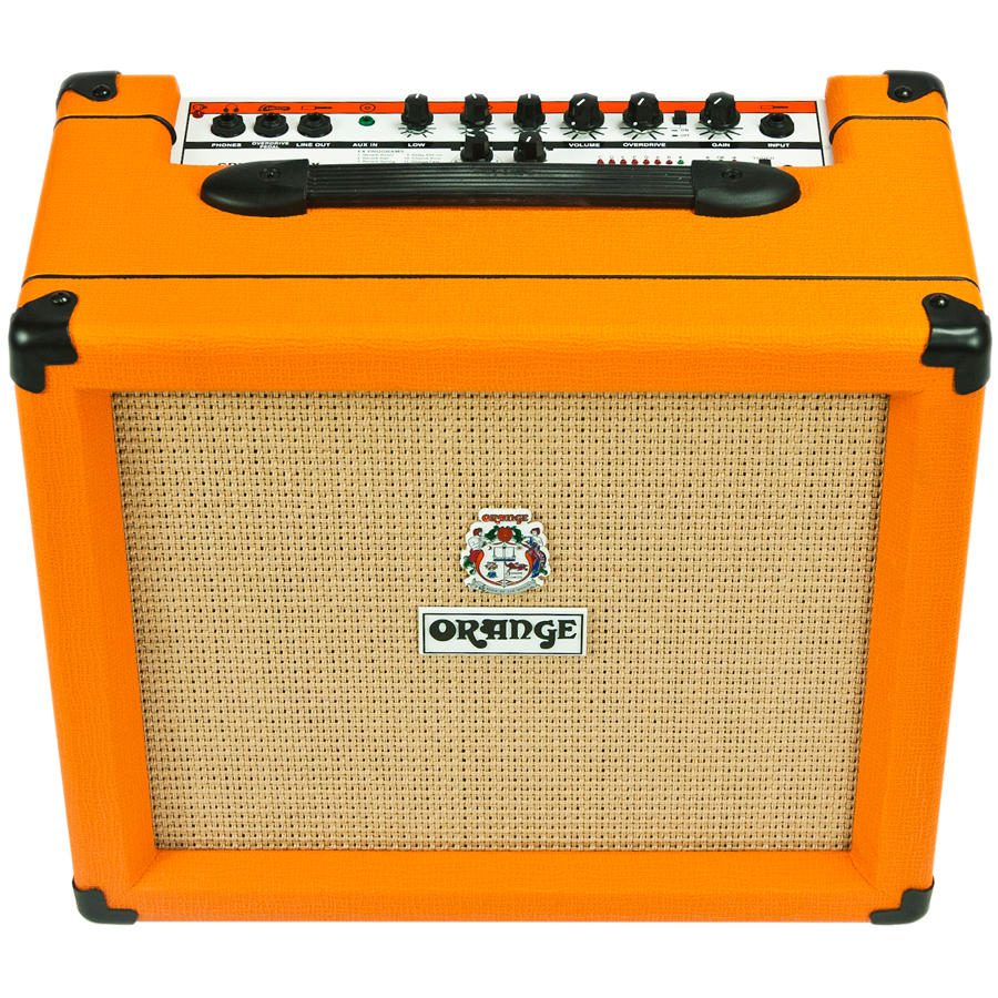 Orange CR35LDX - Crush 35-watt PiX Guitar Amp Front Angle