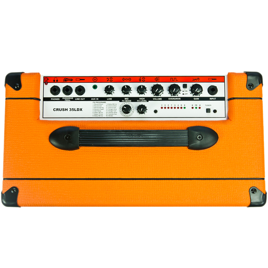 Orange CR35LDX - Crush 35-watt PiX Guitar Amp Top View