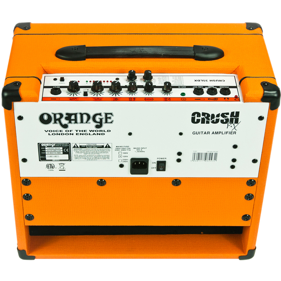 Orange CR35LDX - Crush 35-watt PiX Guitar Amp Rear View