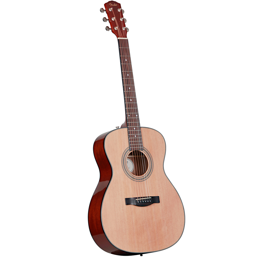 Fender FA-125S Folk Guitar Acoustic Pack Angled View
