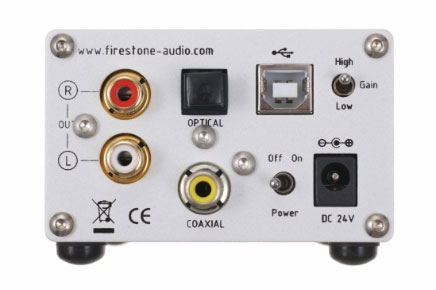 Firestone Audio Fubar IV Special Edition Rear View