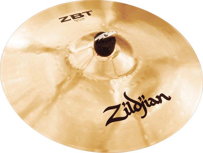 Zildjian ZBT 4 Pro Cymbal Pack with Free Rock Crash Crash