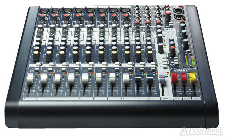 Soundcraft MFXi 8  Front View