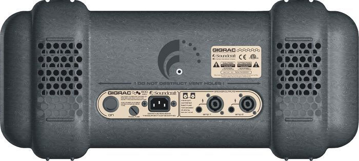 Soundcraft GigRac 600 Rear View