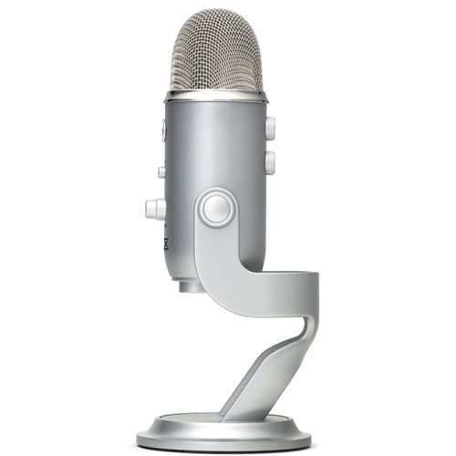 Blue Yeti Left Side