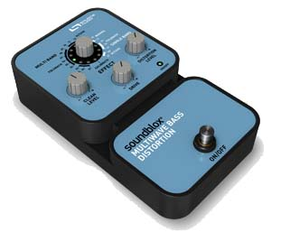 Source Audio Soundblox Multiwave Bass Distortion Angled View