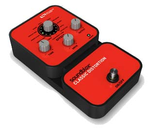 Source Audio Soundblox Classic Distortion Angled View