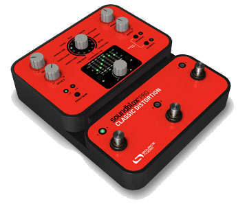 Source Audio Soundblox Pro Classic Distortion Angled View