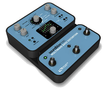 Source Audio Soundblox Pro Multiwave BASS Distortion Angled View