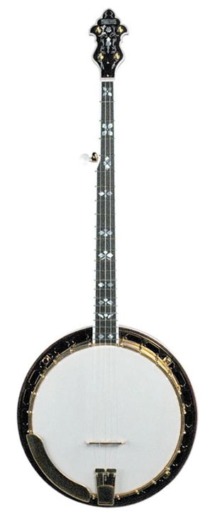 RK-R85-SN Soloist Banjo with Gold Hardware