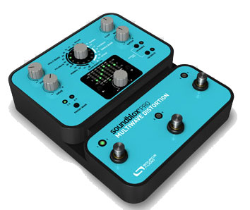Source Audio Soundblox Pro Multiwave Distortion Angled View