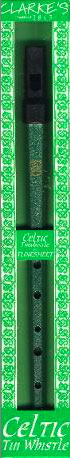 Clarke Celtic Tin Whistle - Key of D Packaging