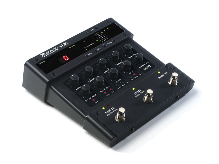 Digitech Vocalist Live 3 Angled View